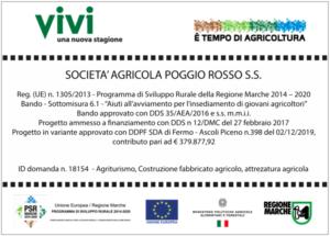Programma di Sviluppo Rurale della Regione Marche